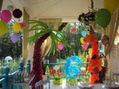 Оформлення повітряними кулями днів народжень і свят