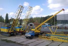 Оренда гусеничного крана МКГ-25БР в Києві
