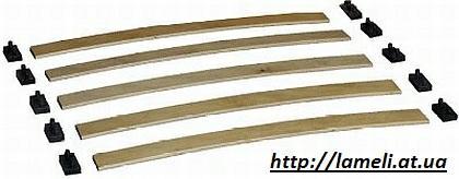 Ортопедичні ламелі ліжко з бука, ламелі для матраца