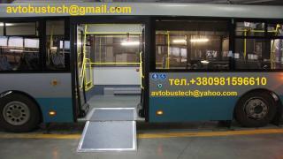 Переобладнання автобусів Баз,Паз,Богда для перевезення інвалідів