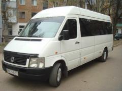 Перевезення мікроавтобусом Mercedes Vito