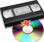 перезапис з відеокасет на dvd-диски