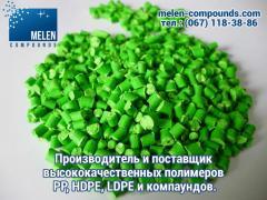Поліпропілен гранули. Вторинний поліпропілен