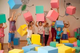 Поролоновое шоу!! Шоу програма поролонові кубики