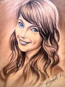 Портрети олівцями та сангіною