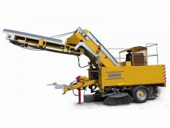 Послуги екскаватора-навантажувача, відвал для прибирання снігу. 350 грн