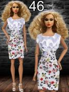 Повсякденний одяг для ляльок Барбі