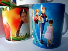 Printing on cups, plates