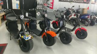 Продается электрический скутер citycoco 3000W с аккумулятором 20ач