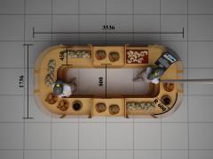 Продам торговий острівець 1