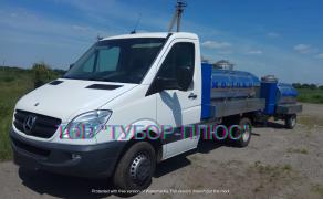 Production of tank trucks, milk carriers, water carriers, fish carriers