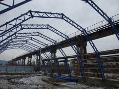 Проектування і будівництво арочних складів