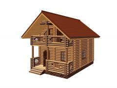 Проекти будинків із зрубу