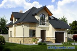 Пропонуємо нові проекти котеджів , будинків , дач і лазень