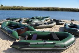 Ремонт надувних човнів