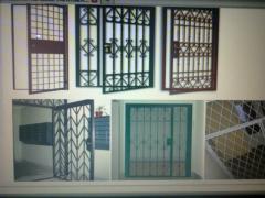 Решітки на вікна,ворота,паркани,перила,хвіртки та інші металлокон