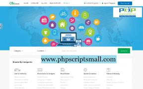 РНР класифікуються скрипт оголошень скрипт PHP (phpscriptsmal