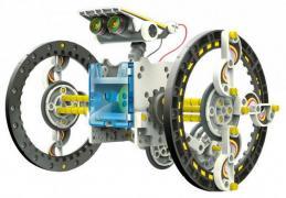 Робот - конструктор 14 в 1 на сонячних батареях