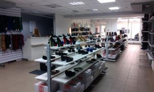 Розпродаж обладнання б/у (торгова меблі - стелажі і стійки