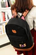 Рюкзак міський молодіжний жіночий рюкзак Ears синій