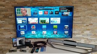 """Самсунг 40"""" вигнутий uhd з роздільною здатністю 4K Смарт-Ультра повний HD світлодіодний"""