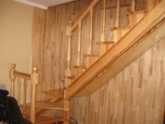 Сходи на другий поверх, комбінованих залізо-дерево