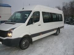 швидко доставимо вас в Луганськ на мікроавтобусі Фольцваген 8 місць