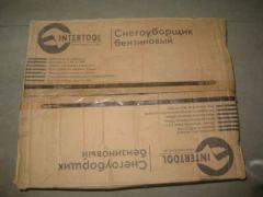 Снігоприбиральник бензиновий 2900Вт Intertool