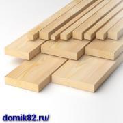 Сухий пиломатеріал і погонаж з доставкою по Криму