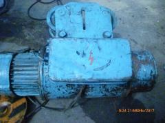 Тельфер, е/двигуни, лічильник ШЖУ, холодильна установка