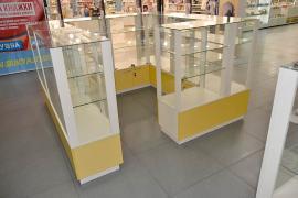Торгова меблі: Вітрини, прилавки, стелажі, стенди