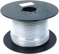 Трос сталевий оцинкований в ПВХ оболонці