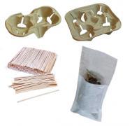 Трубочка, мішалка, термочехол, фільтр пакет, тощо