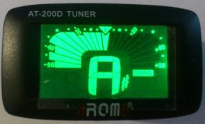 Тюнер для налаштування гітари, скрипки, укулеле AROMA AT-200D