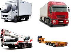 Вантажоперевезення, міжміський до 20 тонн