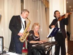 ведучий,саксофоніст,скрипаль,діджей пропонують весілля евростайл