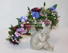 Венок на голову из цветов
