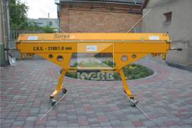Верстат для гнуття металу 2 метри (Польща)
