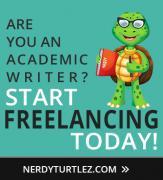 Відвідайте NerdyTurtlez.com фріланс академічного письма Робота у Великобританії