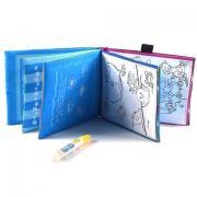 Водна розфарбування багаторазового використання у вигляді книги в тверд