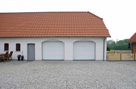 Ворота секційні гаражні 2500*2280 мм за 11316 грн