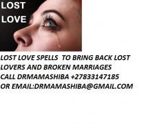 втратили привороти, щоб повернути втрачену любов, зателефонуйте по телефону +27833147185