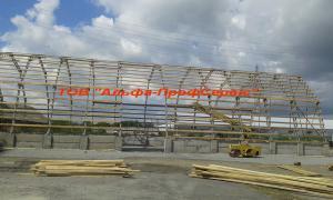 Виготовлення та Будівництво Каркасних Ангарів