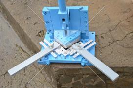 Вирубний прес (висічний штамп) для металу Mazanek