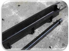 Залізні форми для стовпів під бетонну огорожу (європаркани)