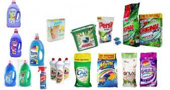 Засоби побутової хімії для прання, прибирання та гігієни недорого